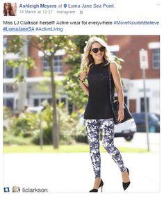 #LornaJaneSA drivers keeping stylish #ActiveLiving #MoveNourishBelieve Active Wear, Believe, Sporty, Stylish, How To Wear, Fashion, Moda, Fasion, Trendy Fashion