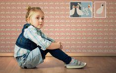 Tapete My little princess, love light - Designer Tapeten DecorPlay