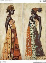 Resultado de imagen de cuadros y laminas africanas African Design, African Art, Bible Crafts, Paint Party, Color Theory, Types Of Art, Applique Designs, Black Art, Traditional Art