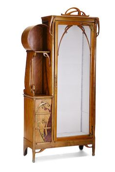 A Léon Benouville mahogany, marquetry and brass vitrine cabinet circa 1900 Furniture Styles, Unique Furniture, Vintage Furniture, Furniture Design, Son Quotes, Baby Quotes, Family Quotes, Girl Quotes, Daddy Birthday Gifts