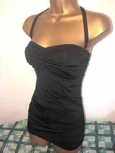 6fcc12cffe884 SEXY LADIES MATALAN BLACK PADDED TUMMY CONTROL SWIMSUIT SIZE 14 NEW  fashion   clothing  shoes  accessories  womensclothing  swimwear (ebay link)