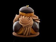 A l'occasion des fêtes de pâques, Claire DAMON vous proposera le saint honoré chocolat uniquement vendredi, samedi, dimanche et lundi. http://www.desgateauxetdupain.com/patisseries/saint-honore-chocolats.html