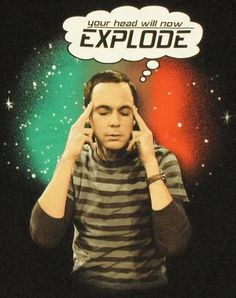"Sheldon from ""The Big Bang Theory."""
