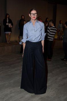 20 outfits which showcase Jenna Lyons' iconic style - Fashion Quarterly Dressy Outfits, Mode Outfits, Solange Wedding, Jenna Lyons, Look Fashion, Womens Fashion, Runway Fashion, Fashion Design, Mode Simple