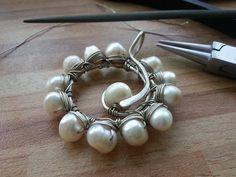 WireGalaxy Jewelry by Kateryna Chernenko. Wire wrap art