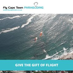 It's fathers day this weekend, and that means it's a chance to show dad how much you care! Give dad the gift of flight this Sunday, and make it the coolest Father's Day in history. It will certainly give him bragging rights amongst his mates. Paragliding, Gift Vouchers, Cape Town, Fathers, Sunday, Waves, History, Gifts, Outdoor