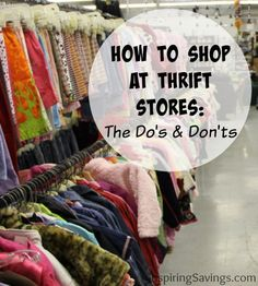 How to Save even more money at the Thirft Store
