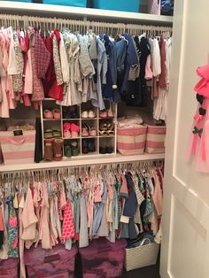 The Kids Closets Organized | How to Organize Your Kids Closets | Home of Malones Lifestyle Blog