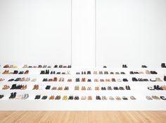 Shoes, on shoes, on shoes // www.brokeandchic.com