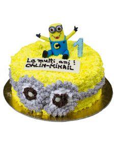 Tort-minioni Cake, Desserts, Food, Tailgate Desserts, Deserts, Kuchen, Essen, Postres, Meals