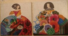 cuadro de las meninas - Buscar con Google Ceramic Figures, Needlework, Decoupage, Whimsical, Mixed Media, Applique, Collage, Hand Painted, Ceramics