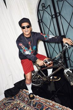 Bruno Mars is the Cover Star of WSJ. Magazine March 2017 Men's Fashion Issue