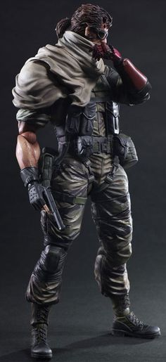 METALGEAR SOLID V Venom Snake Action Figure