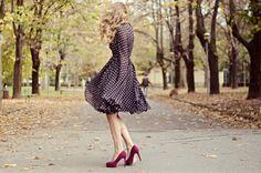 fotografie vintage fashion blogger outfit vintage anni 60