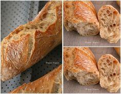 """J'ai enfin trouvé """"LA"""" recette pour faire de belles et bonnes baguettes de tradition!"""
