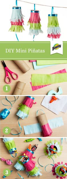 Spice up your Cinco de Mayo festivities with this DIY mini piñata craft. Make your own Cinco de Mayo decorations with our easy mini piñatas craft.