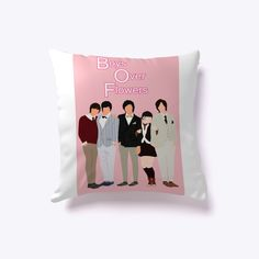Everyone's favorite Korean Drama meets Home Decor. Now you can have Lee Min Ho on your sofa. Boys Over Flowers, Lee Min Ho, Korean Drama, Sofa, Kpop, Pillows, Home Decor, Drama Korea, Homemade Home Decor