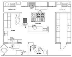 kitchen restaurant disegno - Buscar con Google