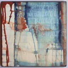 Chaque note 2 - 25x25 cm - Elisabeth Couloigner