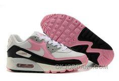sports shoes 609ef 76cb8 Nike Air Max 90 Womens Pink Black White Ivory Free Shipping R8Nc3, Price    74.00 - Jordan Shoes - Michael Jordan Shoes - Air Jordans - Jordans Shoes
