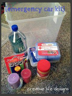 DIY emergency car kit  creative life designs