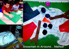 Melted Snowman craft!