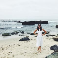 We had fresh-squeezed tangerine mimosas with breakfast and then took a walk on the beach (with the sea lions!) and I'm just so happy we decided to move to this little slice of paradise (ps my dress was my mom's from the 70s and I'm equally happy it still fits!) // #sandiego  more on Stories!