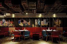 Chuan Xi Bazaar hot pot restaurant by the Swimming Pool Studio, Nanjing – China » Retail Design Blog