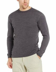 Minus33 Merino Wool Men's Chocorua Midweight Crew, Charcoal Grey, Medium by Minus33 Merino Wool Clothing, http://www.amazon.ca/dp/B002TSD41S/ref=cm_sw_r_pi_dp_7WNftb0EFFRGT