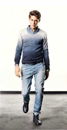 DRYKORN S/S 2012 lookbook - ombre sweater