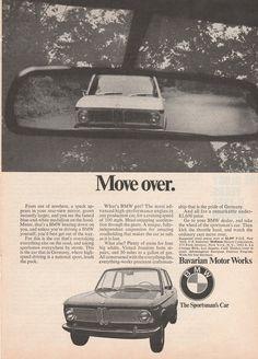 1968 BMW 1600 vintage ad