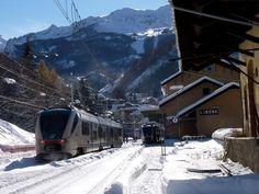In treno a Limone Piemonte