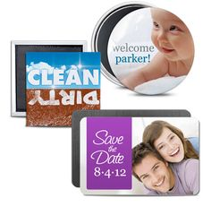 Design your own photo magnets.