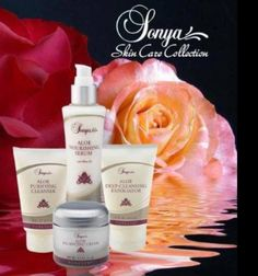 Forever Sonya Skincare range. A skincare range with the key ingredient being the aloe vera plant. A complete skincare range, Cleanser, Toner, Serum, deep-cleansing exfoliator & Balancing Cream. The toner is alcohol free & contains white tea, a powerful antioxidant. I use the serum as a make-up base, it reduces the appearance of pores for a smooth make-up application. Massage the balancing cream into your skin, it is super moisturising. The Exfoliator has natural Jojoba beds which gently lift…