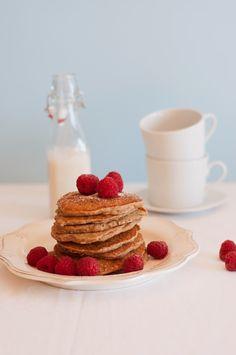 Panquecas de banana e aveia | Banana and oat pancakes Cozinha Fresh