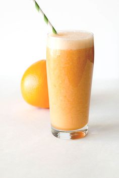 Try this quick and delicious orange grapefruit smoothie. You'd never guess that the secret ingredient is carrot but you'll love the refreshing taste.