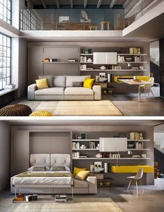 Space Saving Furniture Ideas That Will Make Your Room Look Bigger Multifunctional Furniture, Smart Furniture, Space Saving Furniture, Home Furniture, Furniture Design, Furniture Ideas, Space Saving Beds, Furniture Storage, Unique Furniture
