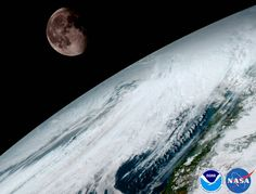 NASA Astronomy Picture of theDay 2017 January 26 Moon over Planet Earth Launched last November 19 from Cape Canaveral Air Force Station, the satellite now known as can now observe planet Earth from a geostationary orbit miles.