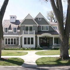 Gray exterior paint colors on pinterest gray exterior exterior paint colors and gray for Grizzle grey sherwin williams exterior