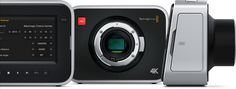 #Blackmagic Design announces #Super-35 #4K #camera with global shutter for smooth panning and image motion
