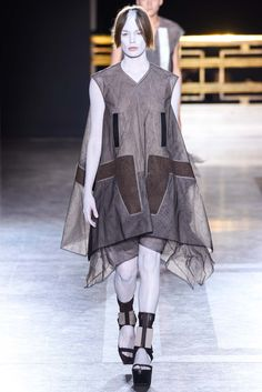 Rick Owens Spring 2015 Ready-to-Wear - Collection - Gallery - Look 1 - Style.com yessssssssssssss
