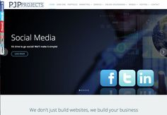 Nieuwe website van PJP Projects