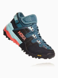 HOKA offers the best in cushioned running shoes, especially with the Arkali vegan hiking boots. The Arkalis are perfect for any outdoor adventure, including running, climbing, and hiking. Thanks to the adjustable heel and ankle straps, they're exceptionally designed to work well for both narrow and wide feet. // The Good Trade // #thegoodtrade #clothing #fashion #ecoconscious #vegan #hiking #hikingboots #boots #outdoors Vegan Hiking Boots, Hiking Boots Women, Trail Shoes, Hiking Shoes, Running Shoes, Ankle Straps, Strap Heels, Hoka One One, Soft Heels