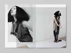 Notter Vigne for Rick Owens S/S 2013 women Mise En Page Lookbook, Lookbook Mode, Fashion Lookbook, Lookbook Layout, Lookbook Design, Editorial Layout, Editorial Design, Editorial Fashion, Print Layout