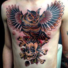 Tattoo done byDrew Romero.