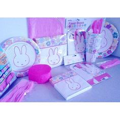 Bunny party set - shonda for Shaylee