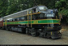 RailPictures.Net Photo: RDG 284 Reading EMD F7(A) at Boonton, New Jersey by Lester Zmudzinski