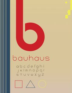 bauhaus graphic design sample