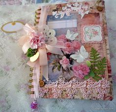 Altered Personal Journal Gift Idea Comes With Extra Ephemera
