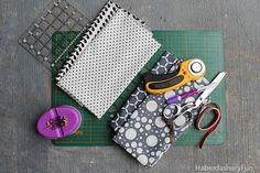 DIY.. Reversible Fabric Storage Bin